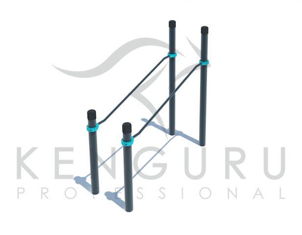 Image PARAKENGURU Inclined parallel bars - Kenguru Pro