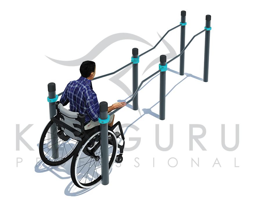 Image Multi-height, multi-width parallel bars - Kenguru Pro