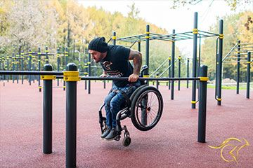 Para-workout equipment (for people with dissabilities)