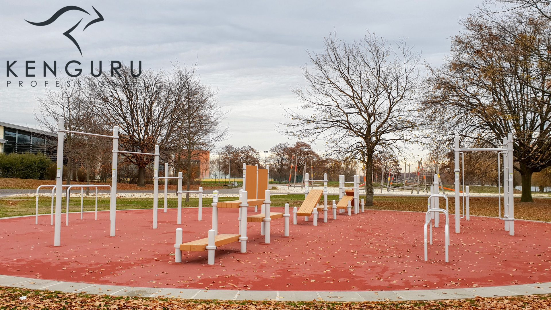 Street workout park in Wolfsburg, Germany