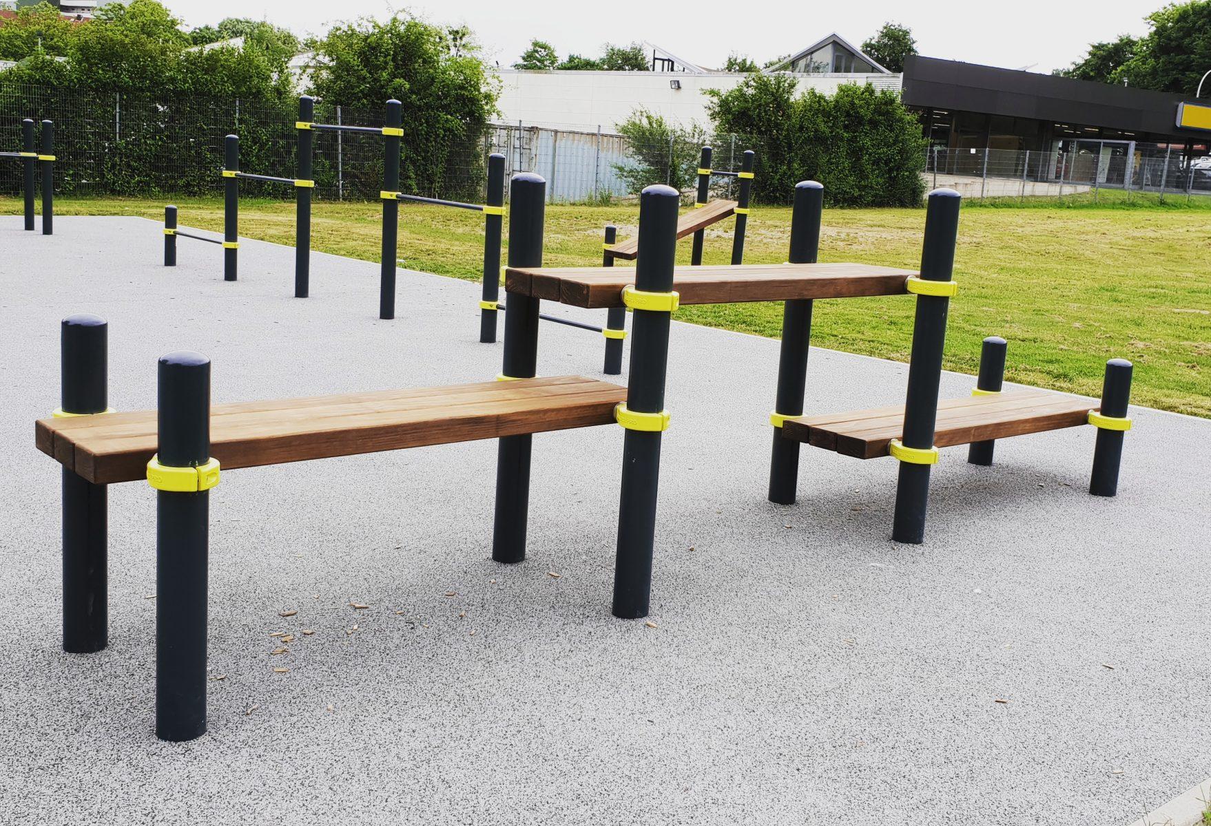 Calisthenics outdoor park in Detmold, Germany - Kenguru Pro Europe